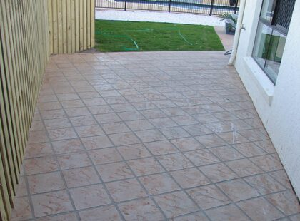 Concrete Patios - Stamped Concrete Entertainment Area's. Concrete Slabs, Concreters Brisbane