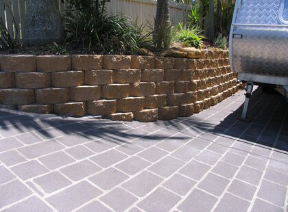 Concrete Retaining Walls - Custom Concreting Projects Brisbane. Concrete Walls, Concrete Stairs