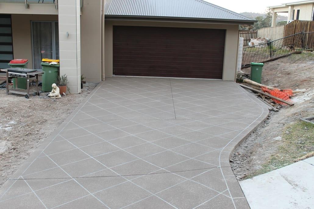 Decorative Concrete Driveway Resurfacing Solutions Brisbane Logan